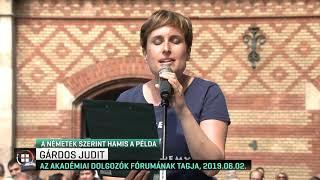 Német kutatóintézmények vezetői tiltakoznak az MTA átalakítása ellen 19-07-04