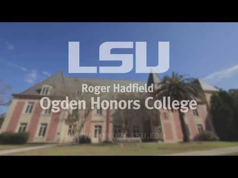 A Day in the Life - Ogden Honors College (LSU)