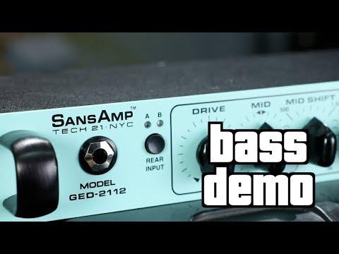 Tech 21 GED-2112 Geddy Lee Signature SansAmp (featuring Josh DuBois)