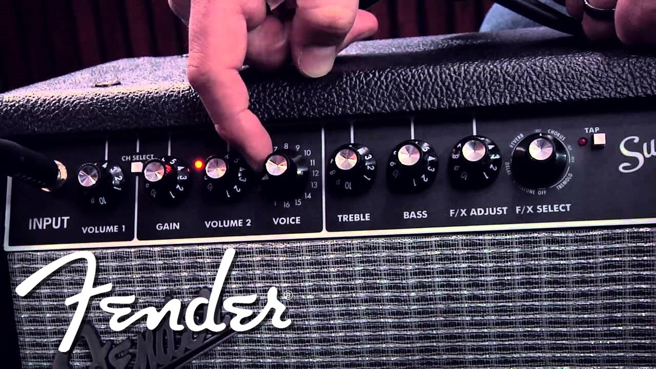 Fender Super Champ X2 Doentary-Style Demo | Fender on