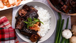 Soy-Braised Short Ribs and Shiitakes
