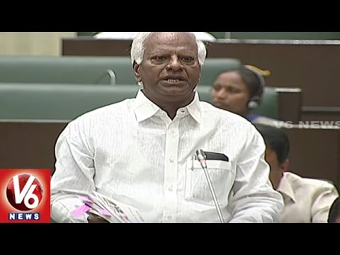 Question Hour : Discussion On Budget Allocations To Education Dept.   TS Assembly   V6 News