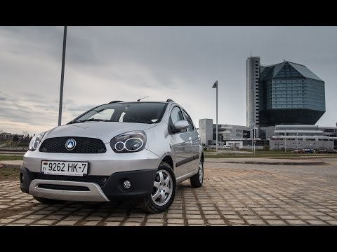 Тестдрайв: Geely LC Cross (производства РБ)