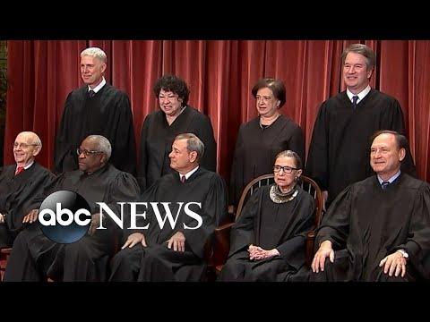 SCOTUS hearing on the president's tax returns