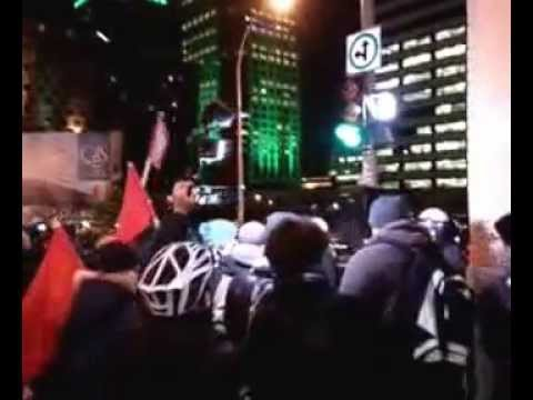 Montreal Anti-Austerity Protest - Live Stream Archive (30/11/15)
