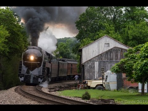 "Norfolk & Western 611: The Chase of ""The American"" across Northern Virginia"