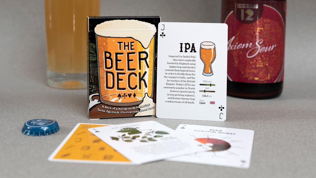 The Beer Deck: Playing cards full of facts about beer