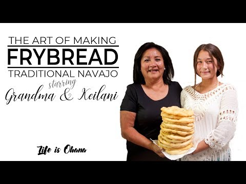How to MakeTraditional Navajo Frybread, dah díníilghaazh
