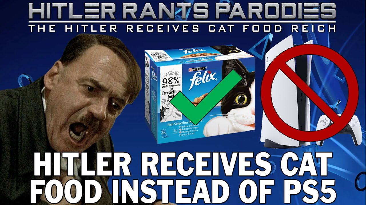 Hitler receives cat food instead of PS5