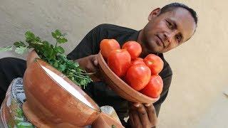 Tamatar Ki Chutney Recipe | Tomato Dip | Grandma's Style | Village Style | Village Food Secrets