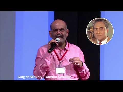 Chetan Sashital (King of Mimicry)   Ashok Kumar      Bollywood On Air