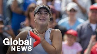 Bianca Andreescu makes historic win to advance to Rogers Cup tennis finals