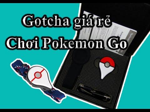 Giá rẻ Go Plus và Gotcha chơi Pokemon Go