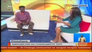 Kenya Halisi : Mtunzi wa kibao maarufu Stella Freshley mwamburi studioni.
