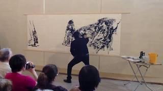 Мастер-класс по японской живописи