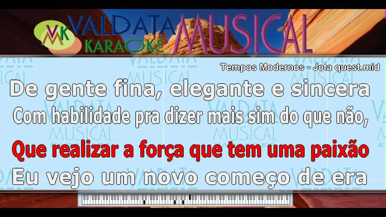 QUESTE DE BAIXAR TEMPOS MODERNOS MUSICA JOTA