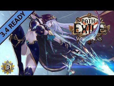 [3.4] Ice Shot Build - Deadeye Ranger - Path of Exile War For The Atlas - Delve
