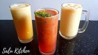 ഒറ്റ ഫ്രൂട്ടിൽ 3 വെറൈറ്റി ജ്യൂസ് | Ramadan Iftar Special Juices | Salu Kitchen | Apple Varieties