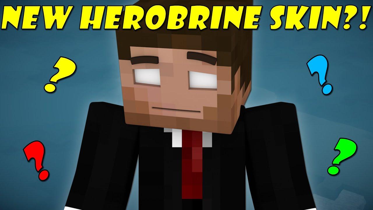 how to download herobrine skin