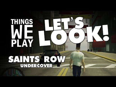 Saints Row Undercover (Unreleased PSP Game) - Things We Play LET'S LOOK!