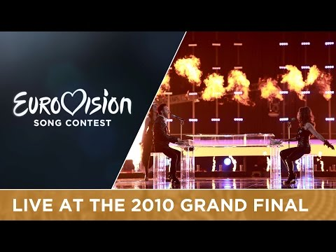 Paula Seling & Ovi - Playing With Fire (Romania) Live 2010 Eurovision Song Contest
