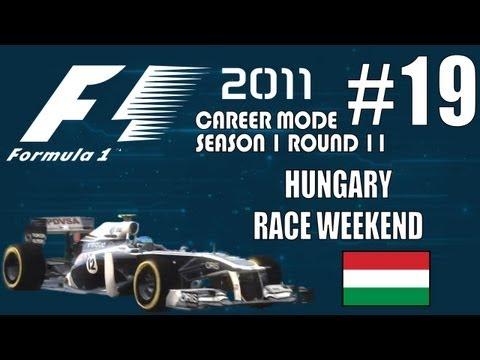 F1 2011 Career: 19. Hungary Race Weekend