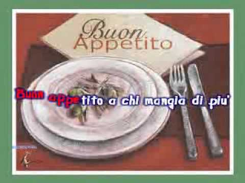 Enrico Montesano - Buon Appetito All'Italiana.wmv