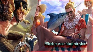 Summer Party Blackfeather Vs. Champion Blackfeather | Comparing the animations
