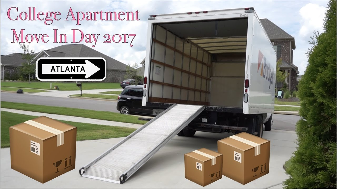 college apartment move in day 2017 | vlog - youtube
