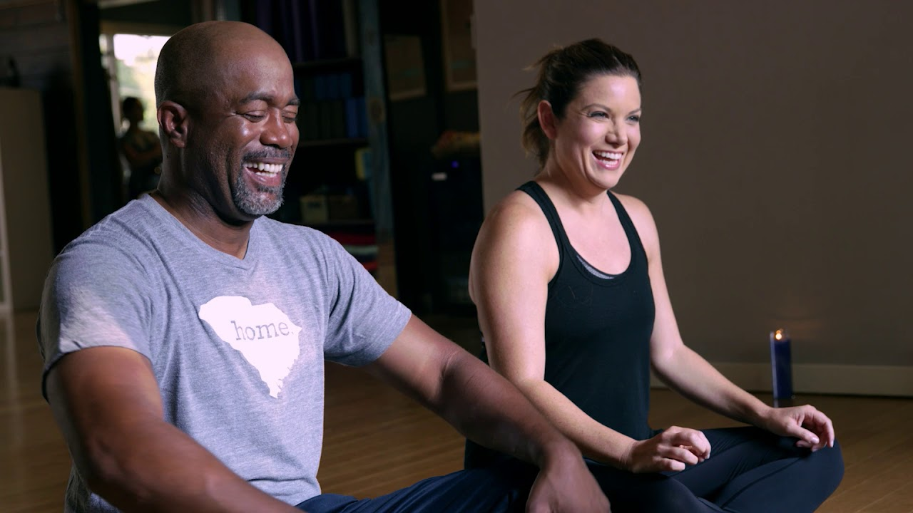 Darius Rucker For The First Time Yoga Not Broga