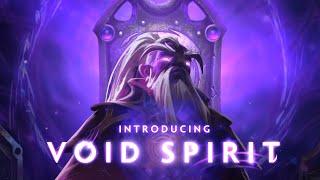 Dota 2 Void Spirit - New Hero - #TI9 The International 9