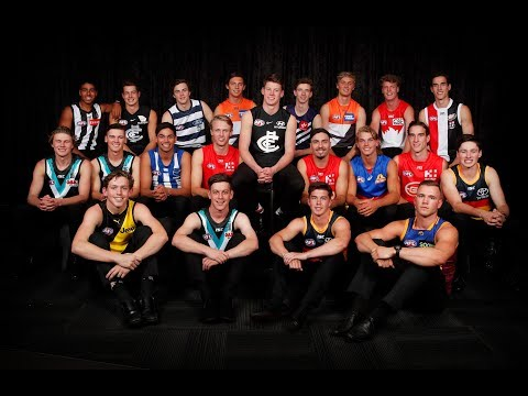 Top 10 picks highlights and jumper presentation | 2018 | AFL