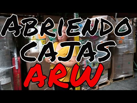 Unboxing ARW Department Store Customer Returns (Spanish)