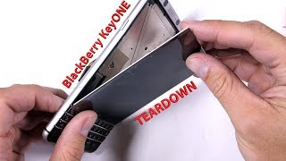 Blackberry KeyONE Teardown - and GIVEAWAY!!