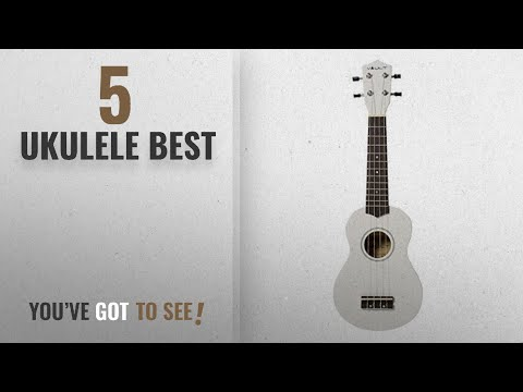 Top 10 Ukulele Best [2018]: Vault UK-003 Soprano Colourful Ukulele With Gig Bag - White