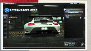 Need For Speed World: Porsche 911 GT3 RS 4.0