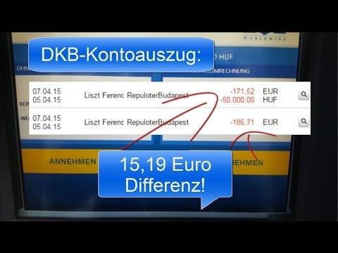 Risiko Geld Abheben Im Ausland Youtube