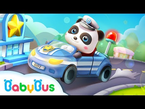 Little Panda Policeman | Gameplay Video | Educational Games for kids | Kids Cartoon | BabyBus