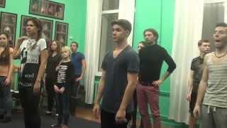 Актерское мастерство - фрагмент урока по сценической речи