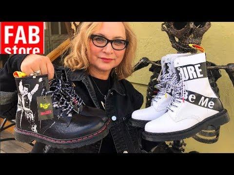 Самая стильная обувь на осень! Выбираю крутые Dr. Martens в FAB Store. Тренды обуви - осень 2019