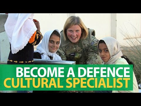 The Defence Cultural Specialist Unit - Opportunities in the Reserves