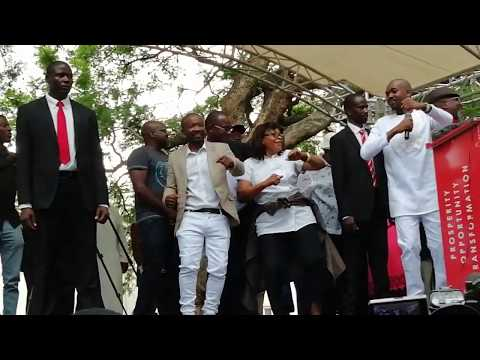 Chamisa dances to Winky D Jecha song