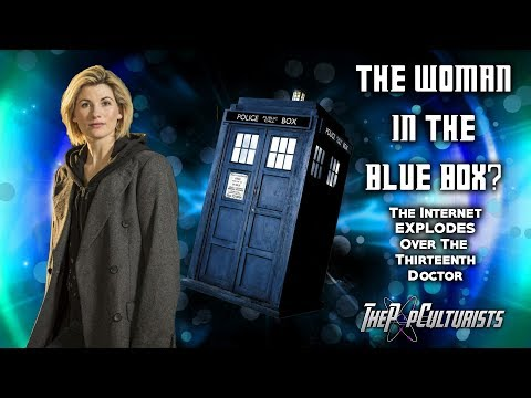 The WOMAN in The Blue Box? | The Internet EXPLODES Over The Thirteenth Doctor