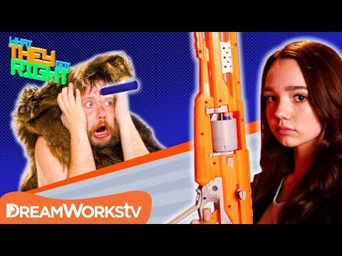 Was Nerf Created For Cavemen?  WHAT THEY GOT RIGHT
