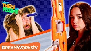Was Nerf Created For Cavemen?! | WHAT THEY GOT RIGHT