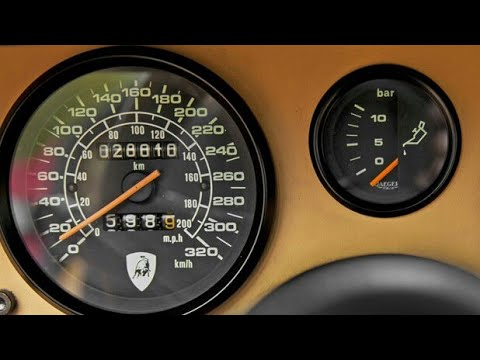 Lamborghini Countach Lp500 S 0 60 Mph Test V12 Acceleration Hd