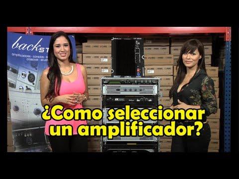 ¿Como seleccionar un Amplificador? - Sensey TV