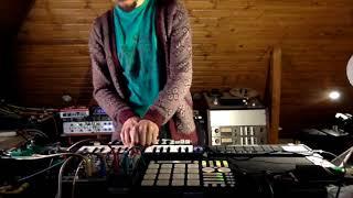 Live set- impro con samples (NO CUANTIZACIÓN) _ Meridian Brothers