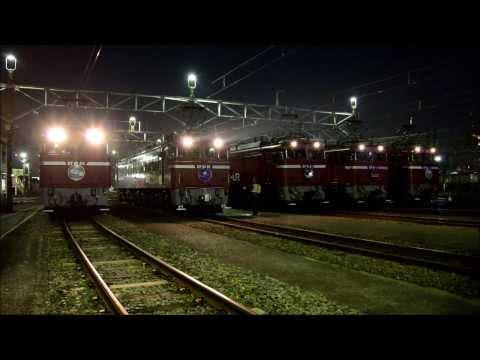 Rail Magazine 創刊30周年記念 EF81電気機関車撮影会in田端運転所