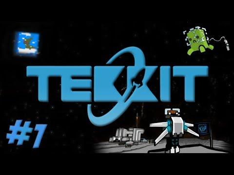 New Tekkit - Episode 1 - EMC Is Back!!! [Minecraft 1.6.4]